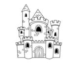 <span class='hidden-xs'>Coloriage de </span>Château de Conte à colorier