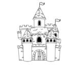 <span class='hidden-xs'>Coloriage de </span>Château de fantaisie à colorier