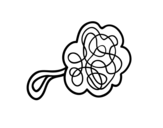 <span class='hidden-xs'>Coloriage de </span>Douche éponge à colorier