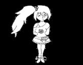 Dibujo de Fille présumée