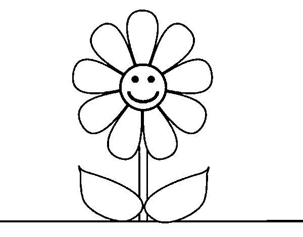 Coloriage de fleur de printemps pour colorier - Image du printemps a colorier ...