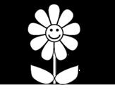 <span class='hidden-xs'>Coloriage de </span>Fleur de printemps à colorier
