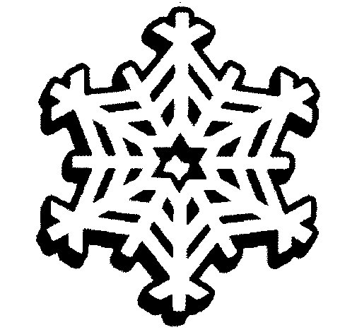 Coloriage de flocon de neige pour colorier - Flocon de neige a colorier ...