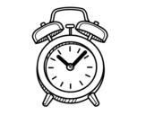 <span class='hidden-xs'>Coloriage de </span>Horloge ancienne à colorier