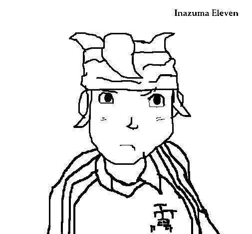 Coloriage de inazuma pour colorier - Coloriage inazuma eleven ...