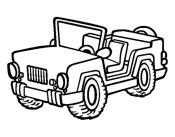Cars How to draw Jeep Wrangler Coloring Pages For 235488 - datu-mo.info