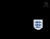 <span class='hidden-xs'>Coloriage de </span>Maillot de la coupe du monde 2014 d'Angleterre à colorier