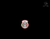 <span class='hidden-xs'>Coloriage de </span>Maillot de la coupe du monde 2014 du Mexique à colorier