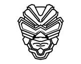 Dibujo de Masque de rayon gamma