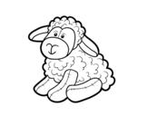 <span class='hidden-xs'>Coloriage de </span>Moutons en peluche à colorier