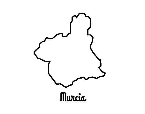 Coloriage de Murcia pour Colorier
