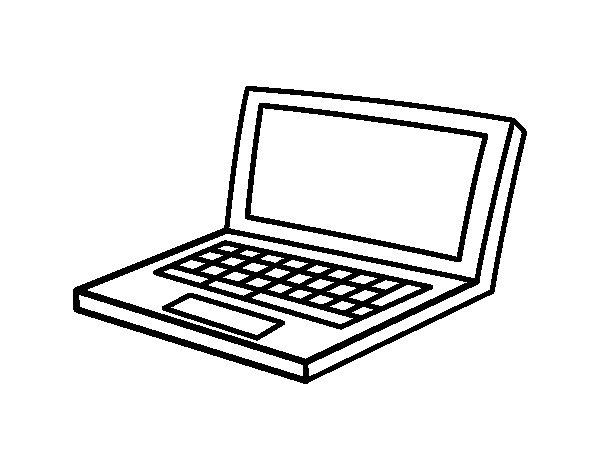 Coloriage de Netbook pour Colorier