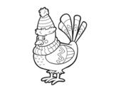 <span class='hidden-xs'>Coloriage de </span>Oiseau chaud à colorier