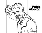 <span class='hidden-xs'>Coloriage de </span>Pablo Alborán chanteuse à colorier