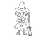 Dibujo de Petite sorcière