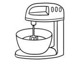 <span class='hidden-xs'>Coloriage de </span> Robot pâtisserie à colorier