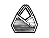 <span class='hidden-xs'>Coloriage de </span>Sac bandoulière à colorier