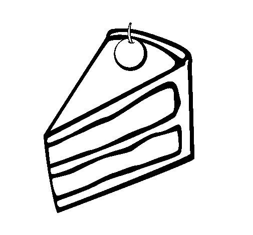 Coloriage de tarte aux pommes pour colorier - Dessin de tarte aux pommes ...