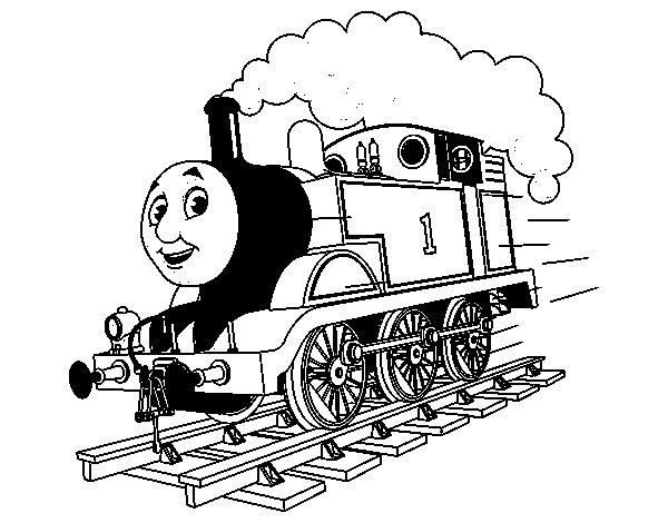 Coloriage de thomas la locomotive 1 pour colorier - Coloriage thomas ...