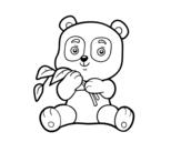 <span class='hidden-xs'>Coloriage de </span>Un panda à colorier