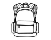 <span class='hidden-xs'>Coloriage de </span>Un sac à dos à colorier