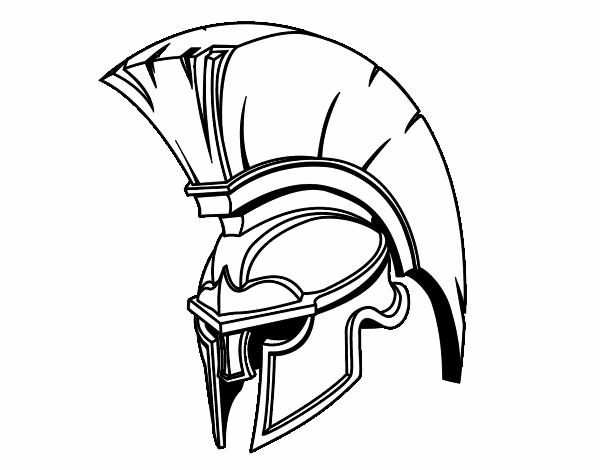 Casque romain de guerrier