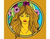 Coloriage Princesse du bois 2 colorié par AdemSyrine