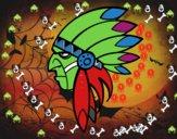 Visage d'Indian Head
