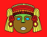 Une masque mexicain