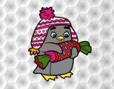 Pingouin avec des bonbon
