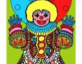Clown déguisé