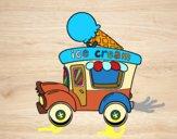 Food truck de crème glacée
