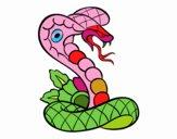 Tatouage de cobra