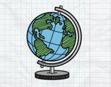 Un globe planétaire