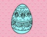 Oeufs de Pâques avec des diamants