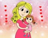 Mère avec sa fille