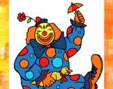 Clown et canard