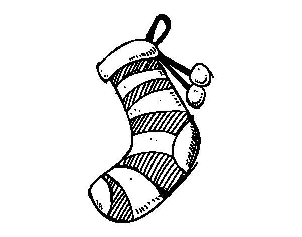 un chaussette de noael